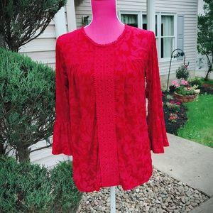 Tops - ❤️RED VELVET❤️ babydoll blouse